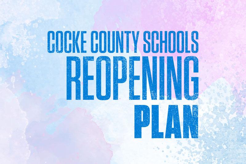 Cocke County Schools Reopening Plan