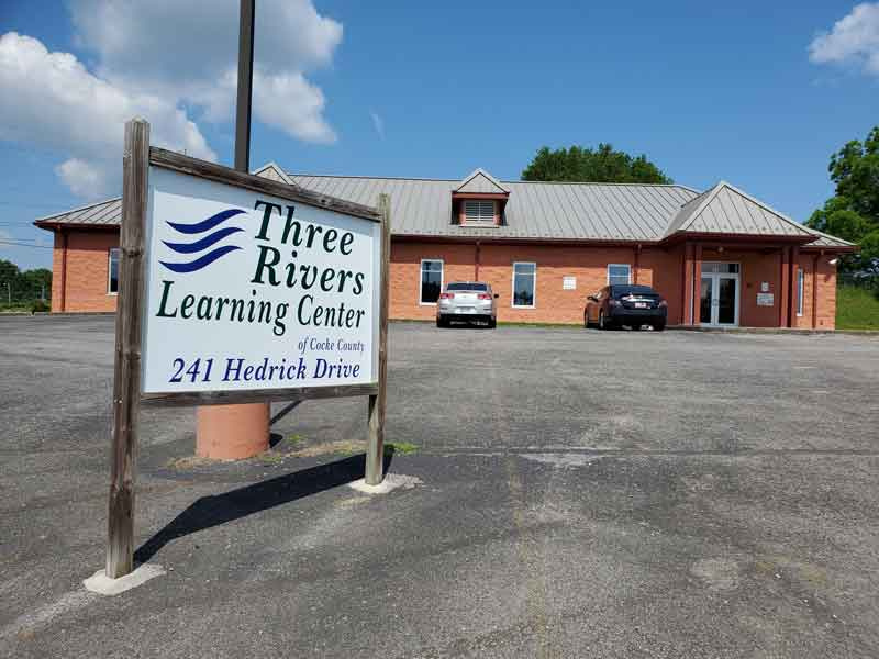Three Rivers Learning Center Sign
