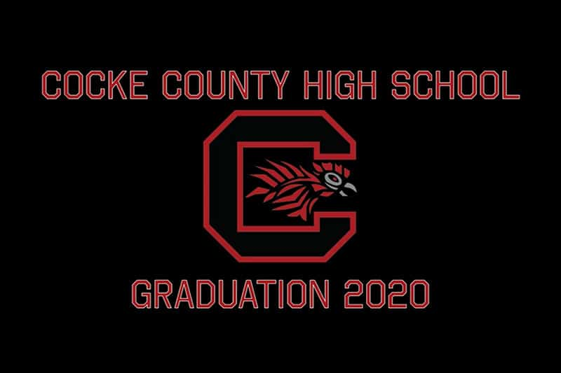 Cocke County High School Graduation 2020